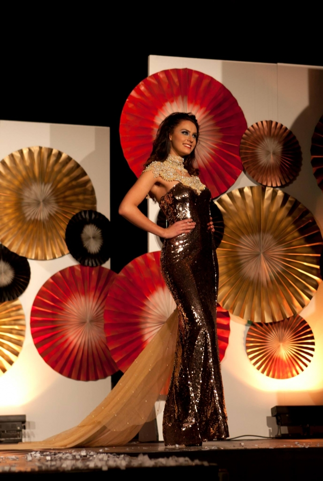 Winner Designer Best Gala dress for Miss Avantgarde 2015
